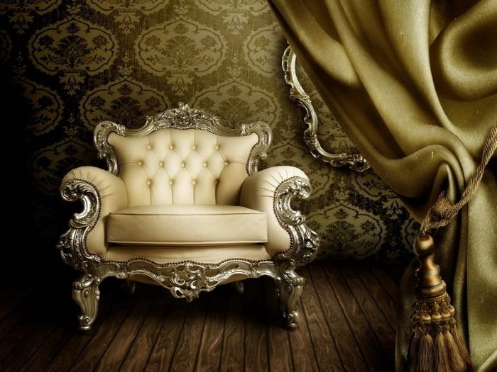 мебель с стиле борокко
