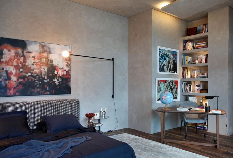 Интерьер спальной комнаты в бразильской стилистике