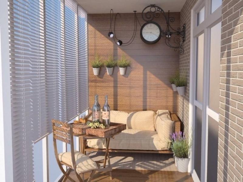 Выбираем мебель на лоджию и балкон