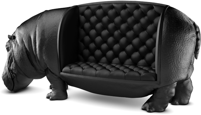 Черная классика в мебели: когда применима, а когда – лучше отказаться?