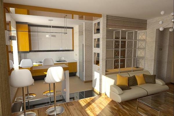 Совмещение кухни и гостиной: о чем стоит подумать, планируя дизайн-проект?