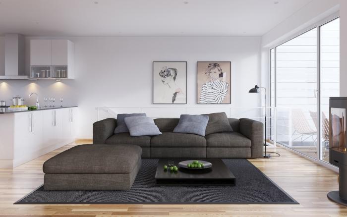 Скандинавский интерьер и подбор мебели для жилого пространства: как сочетать и подбирать обстановку?