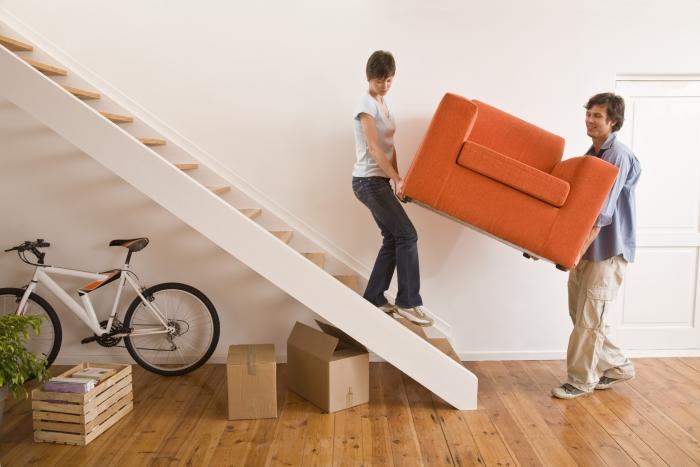 расстановка мебели в загородном доме