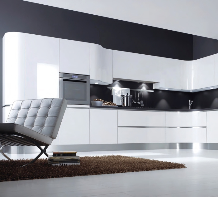 Фасады для кухни из акрила: новое решение в дизайне