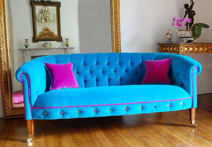 Пестрая мебель