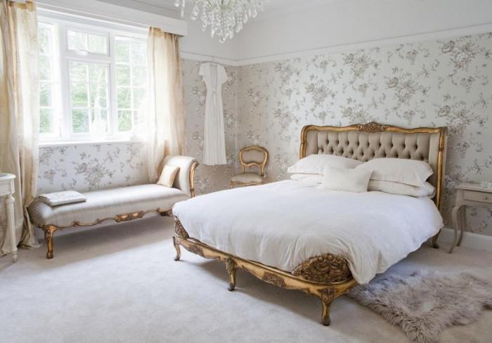 дизайн спальни в французком стиле
