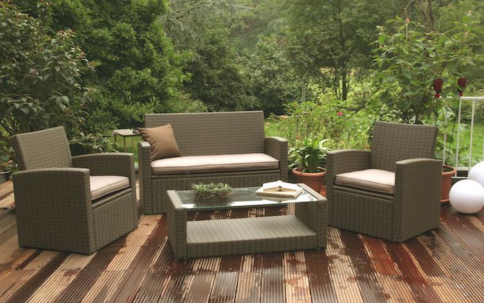 несколько новых идей для выбора садовой мебели