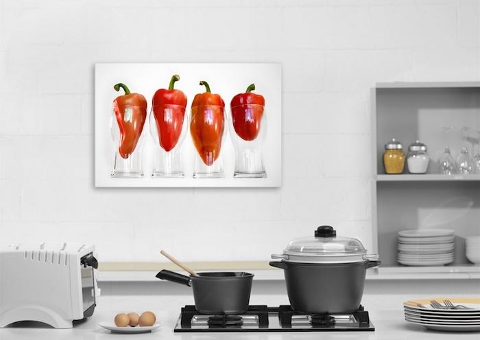 Натюрморт как основная идея декора кухни
