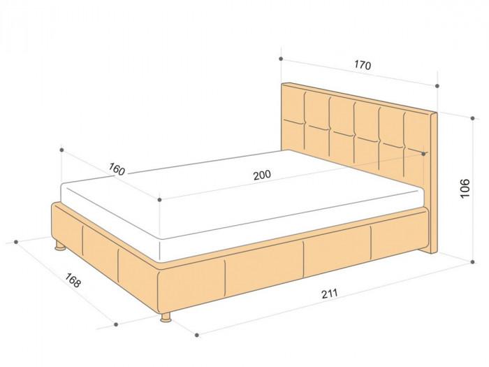 Габариты мебели для спальни: подбираем оптимальные размеры