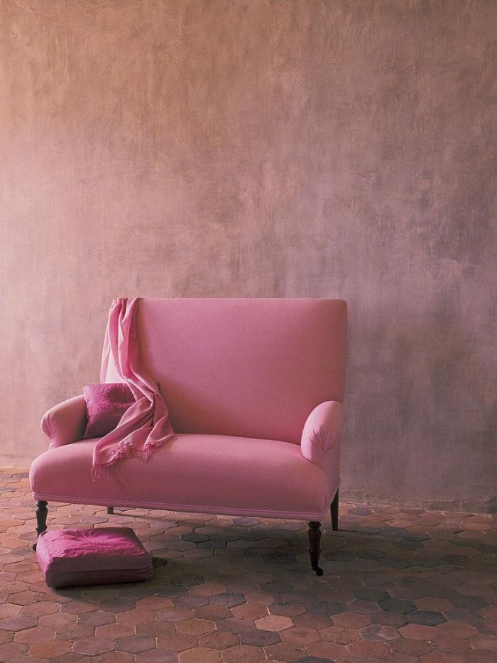 Оттенки розового – нежные цвета снова в тренде в мебельной индустрии