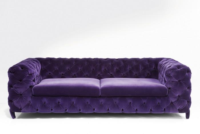 Мягкая мебель из плюша