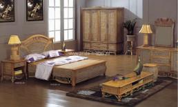 спальня из ротанга